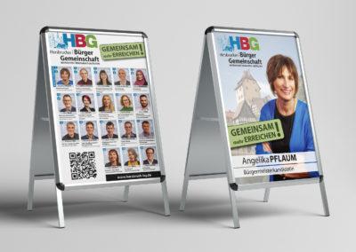 HBG - Wahlwerbung