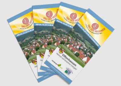 Landkreis Nürnberger Land - Tag der Regionen Flyer
