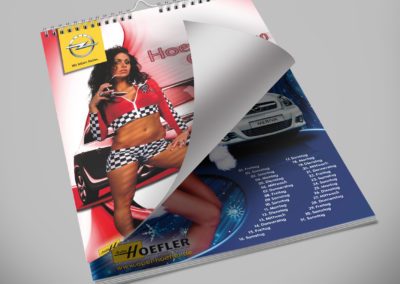 Auto Hoefler - Kalender