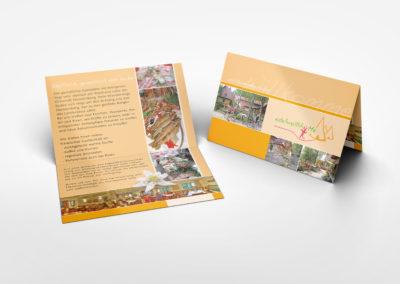 Edelweißhütte - Visitenkarten