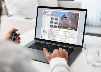 Facharztzentrum für Allgemeinmedizin in den Sebalder Höfen - Website