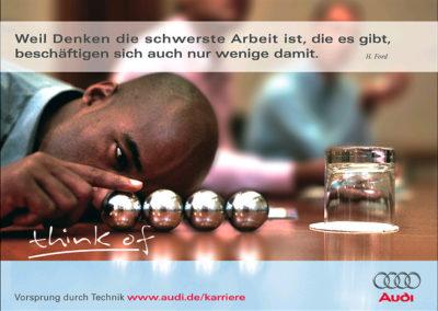 AUDI - Personalmanagement Plakat
