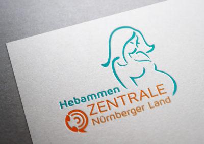 Hebammen Zentrale - Logo